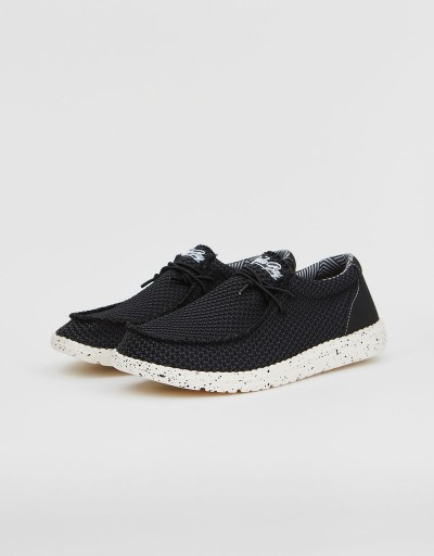 Zapato Wallabee Wallance Negro