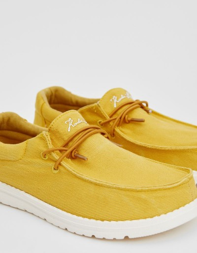 Zapato Wallabee Frida Mostaza