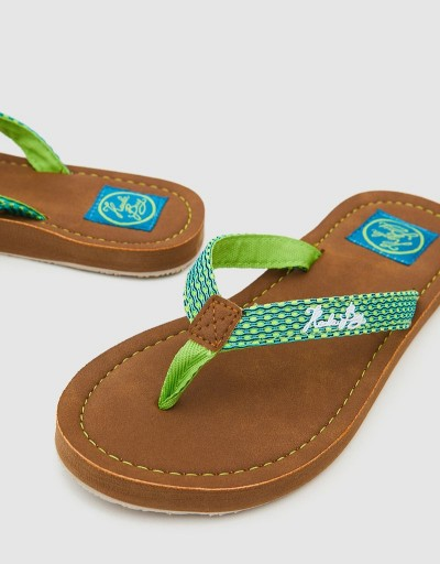 Lime Gigi Woman Flip Flop