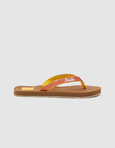 Yellow Gigi Woman Flip Flop
