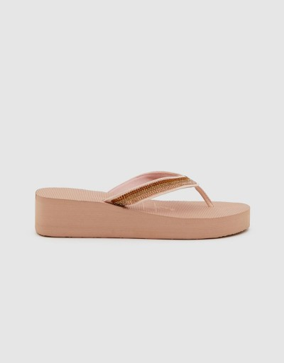 Nude Shurkana Woman Wedge...