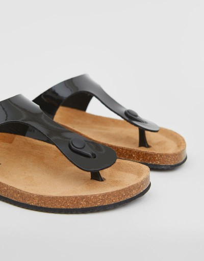 Black Laundry Bio Sandal