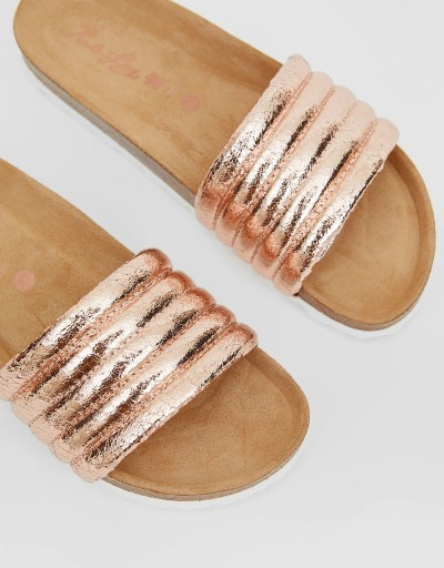 Cira Bio Sandal Rose Gold