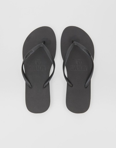 Black Mundaka Woman Flip Flop