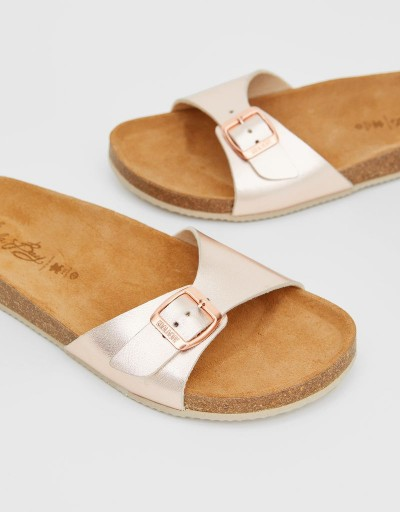 Rose Gold Terral Bio Sandal