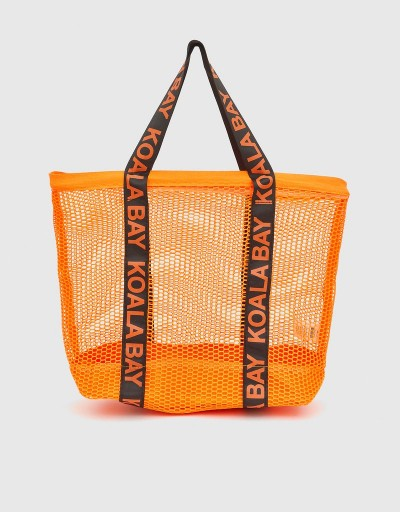 Orange Martina Shopping Bag