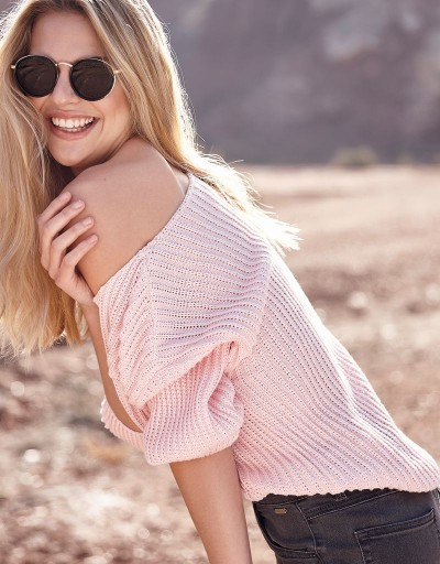 Chanet Sweater Pink