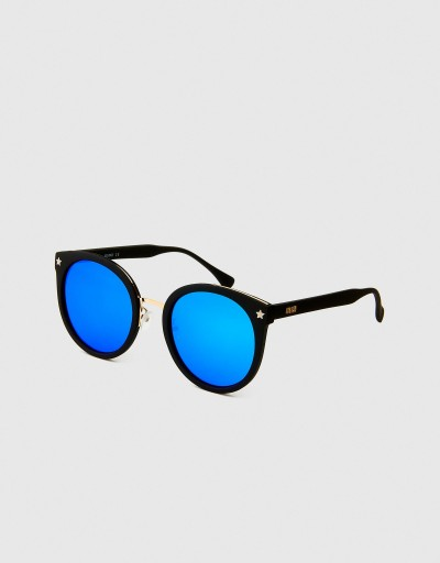 Black-Blue Polarized Round...