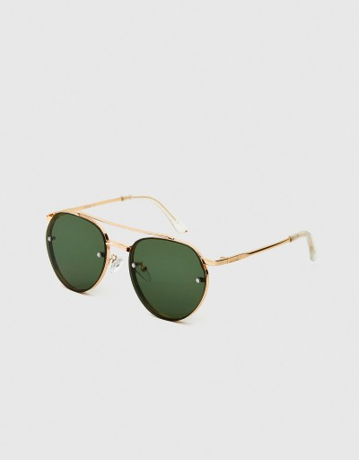 Green-Metal Aviator Cele...