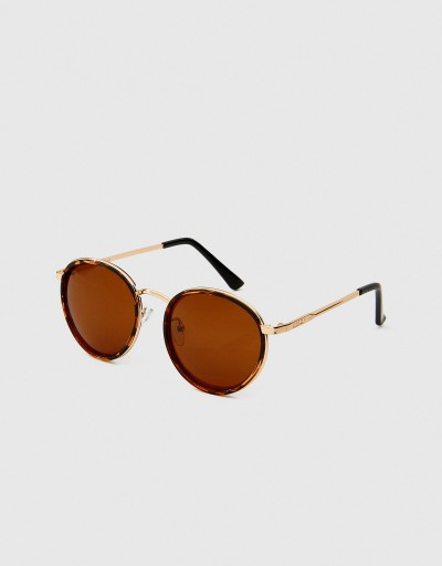 Brown Carey Polarized Round...