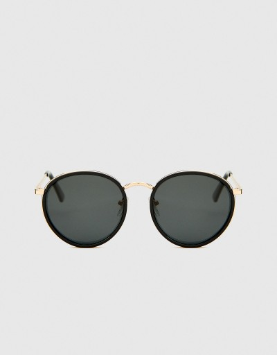 Black Polarized Round...