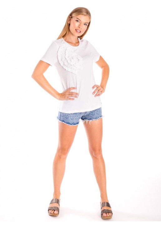 Camiseta Julia Michaels Blanco