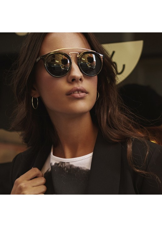 Shine Black Bandon Sunglasses