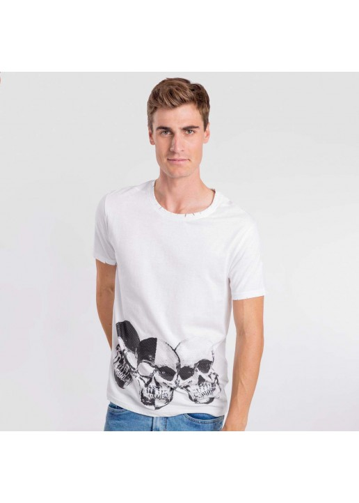 Camiseta Negative blanco
