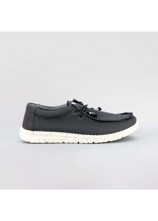Navy Blue Wallaby Wallabees...