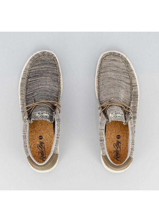 Zapato Wallabee Norman Marrón