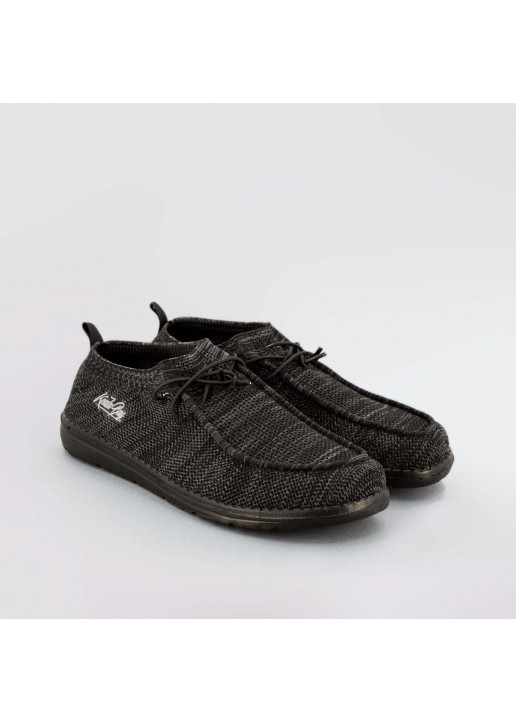 Black Vega Wallabees Shoes