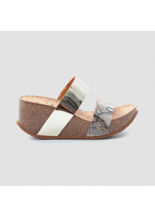 Gold Justice Wedge Bio Sandal