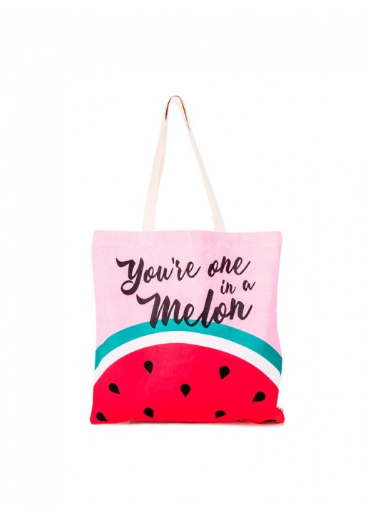 Bolsa Shopper Watermelon Rosa