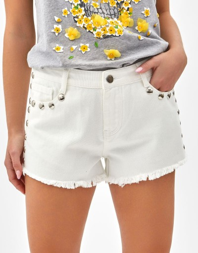 Short Adusa Blanco