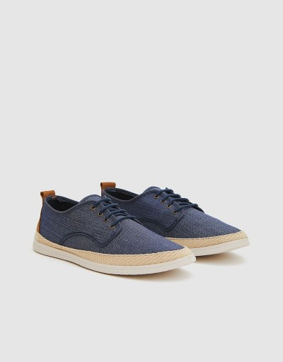 Blucher Comillas Denim