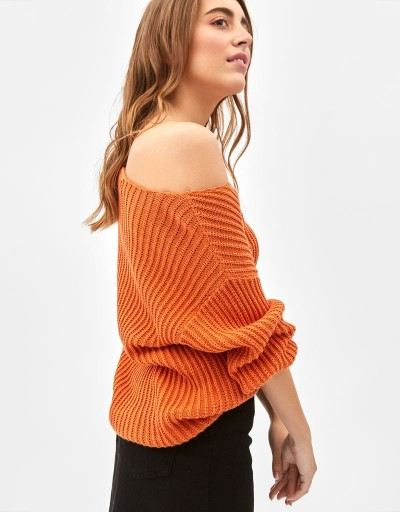 Chanet Sweater Koralle