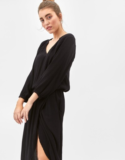 Debbi Long Dress Black