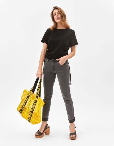 Lola Long Trousers Dark Grey