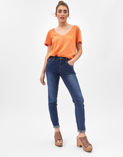 Lola Long Trousers Denim