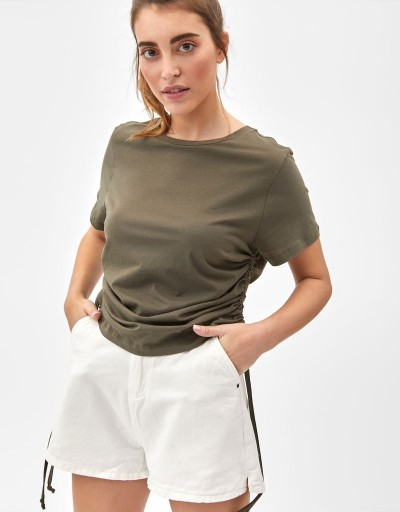 Delfina T-shirt Green